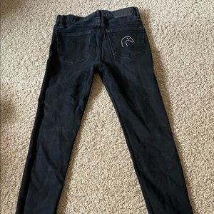 Men's size 29 back h&m jeans (goose embroidery)